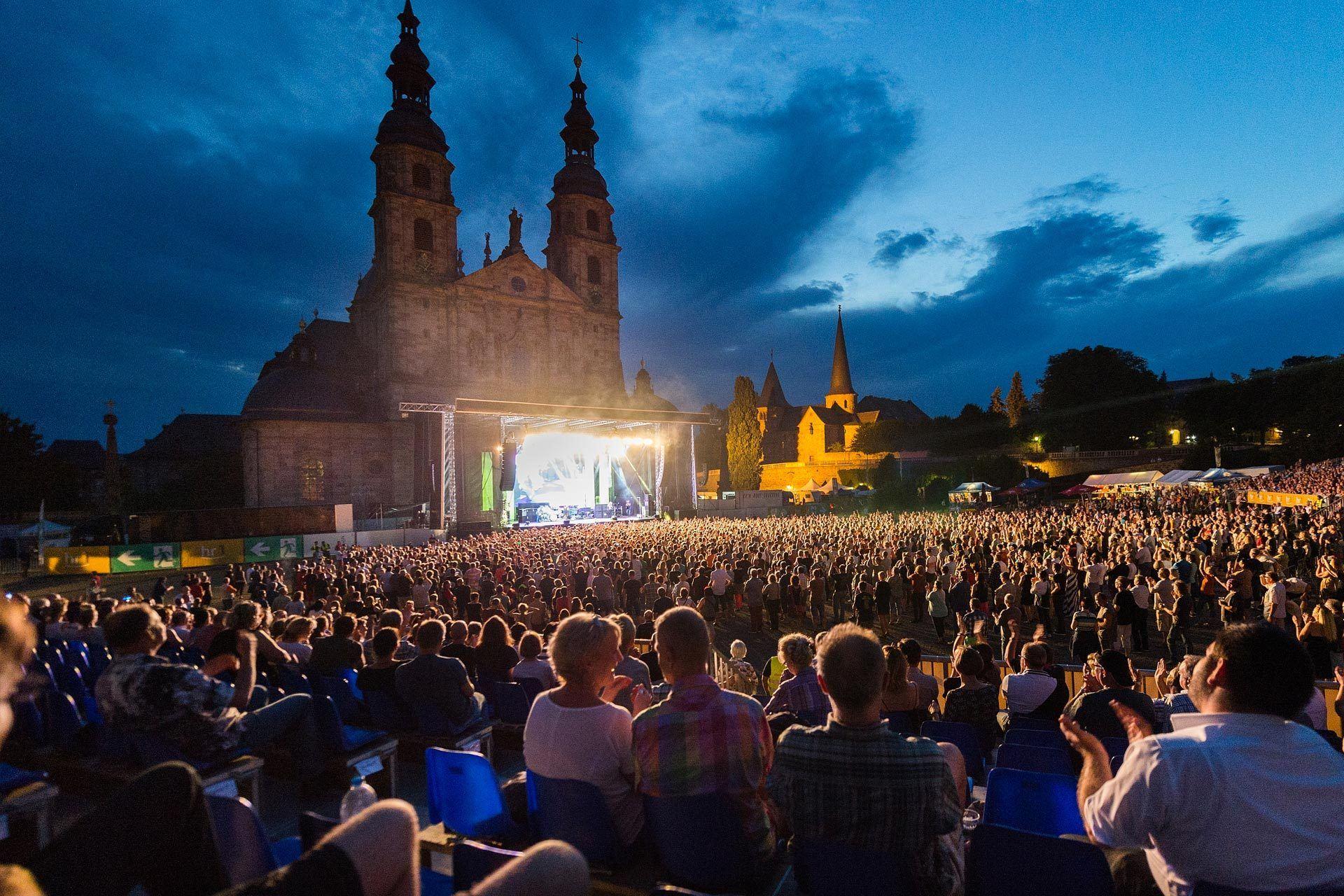 Domplatz Fulda Konzerte und Events