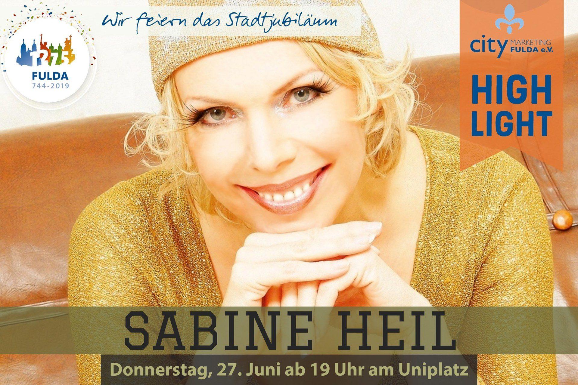 Sabine Heil beim Stadtfest Fulda