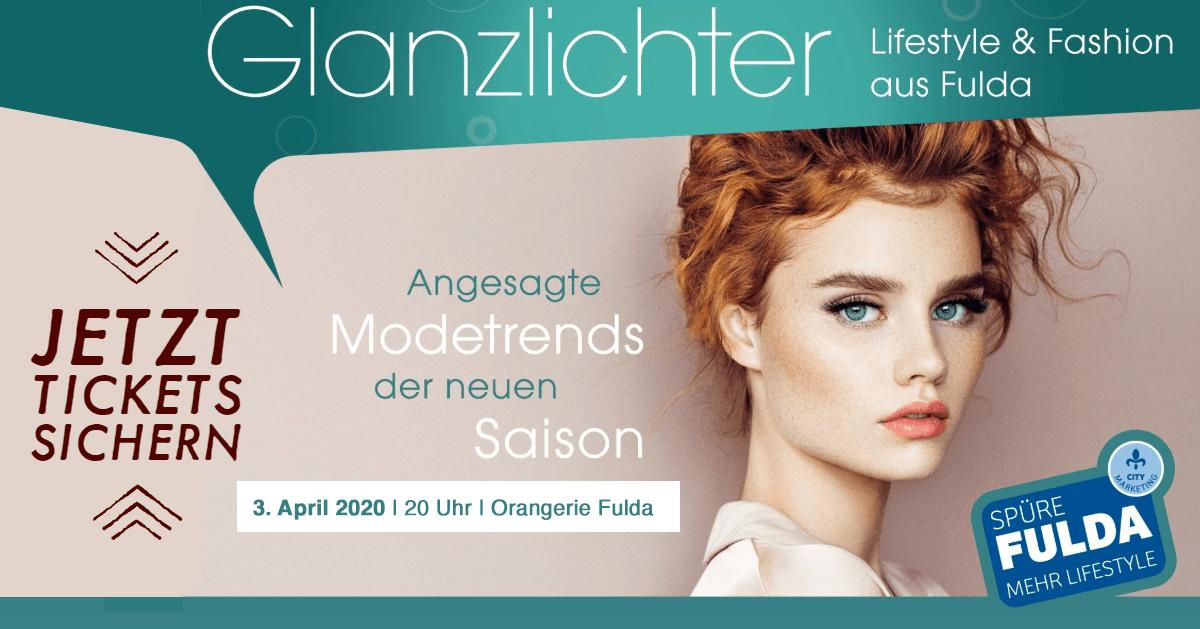 Glanzlichter Fulda Modenschau 2020