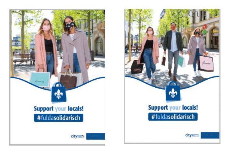 support your locals - Fulda solidarisch
