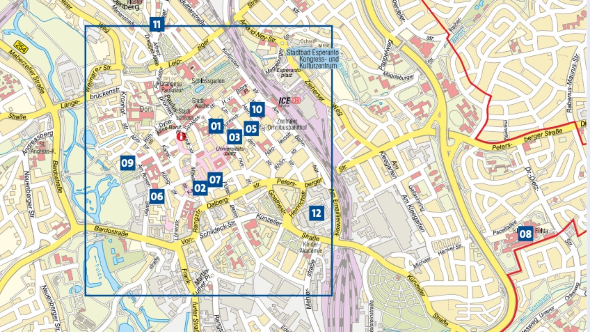 Fulda Corona Testzentren